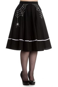 Miss Muffet Skirt Black- ALMOST GONE!