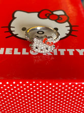 Load image into Gallery viewer, Hello Kitty Sterling Silver Outline Ring