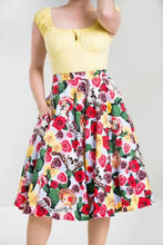 Load image into Gallery viewer, Dia de los Muertos Skirt