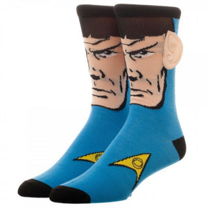 Star Trek Spock Character Socks