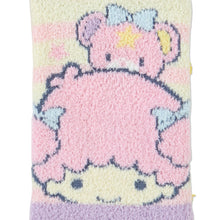 Load image into Gallery viewer, Little Twin Stars Cream and Pink Striped Socks