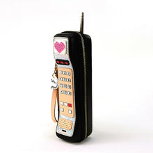 Load image into Gallery viewer, Hand Held Vintage Phone Wristlet