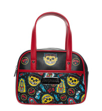 Load image into Gallery viewer, Freak Show Mini Bowler Purse