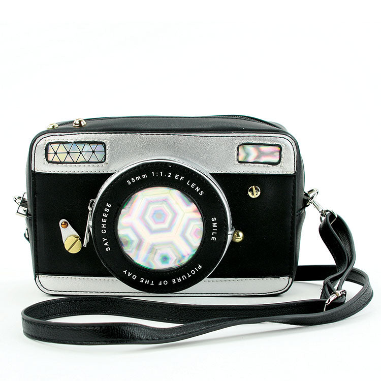 Camera Cross-Body Purse