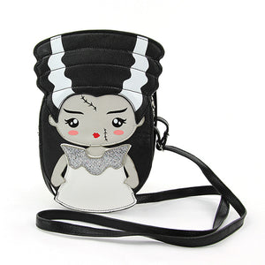 Bride of Frankenstein Cross Body Purse