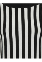 Load image into Gallery viewer, Joy Beetle Black and White Stripe Knitted Top