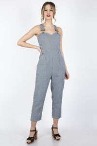 Anthea Stripe Overalls