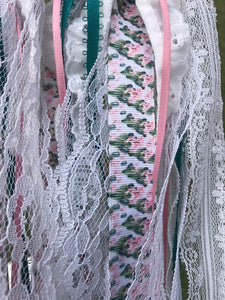 Dream Catchers- Pink Lace and Crochet