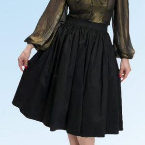 black bettie page skirt