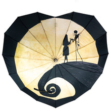 Load image into Gallery viewer, Jack and sally umbrella