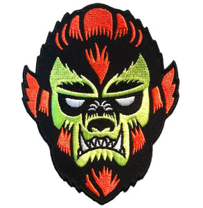 Wolf Man Stylized Patch