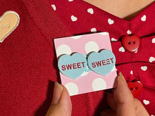 Load image into Gallery viewer, Sweet Candy Heart Stud Earrings
