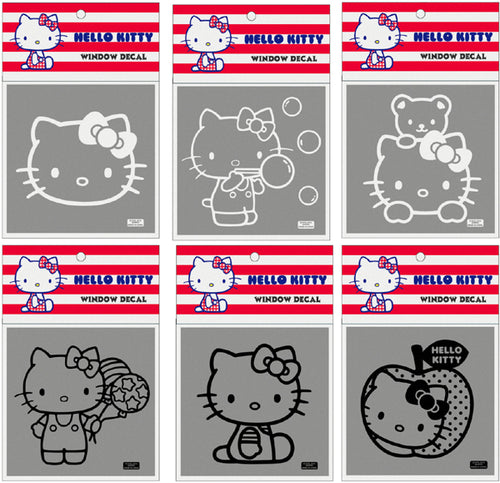 hello kitty car window decals