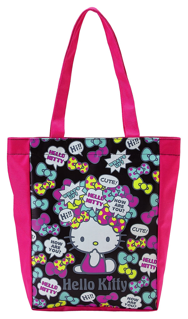 hello kitty 36763 speech bubble tote