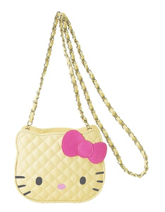 Quilted Hello Kitty Face Purse