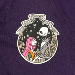 Jack and Sally Wreath Patch