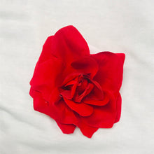 Load image into Gallery viewer, Red Rose Hair Flower