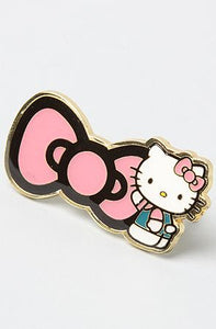 Hello Kitty Double Finger Bow Ring