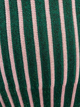 Load image into Gallery viewer, Pink and Green Stripe Gummy Skirt