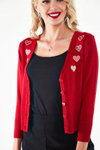 Load image into Gallery viewer, Sweet Heart Blossom Cardigan
