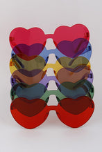 Load image into Gallery viewer, Frameless Heart Sunglasses