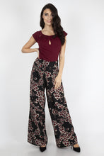 Load image into Gallery viewer, Beth Palazzo Peacock Pants