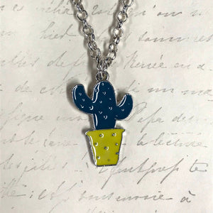 LAST CHANCE Misc Cacti Charm Necklaces