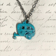 Load image into Gallery viewer, Camper Trailer Charm Necklace
