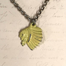 Load image into Gallery viewer, Chief Silhouette Charm Necklace