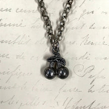 Load image into Gallery viewer, Double Cherries Charm Necklace