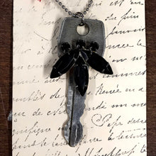Load image into Gallery viewer, One of a Kind Embellished Key Necklace