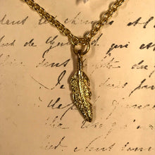 Load image into Gallery viewer, LAST CHANCE Misc Feather Charm Necklaces