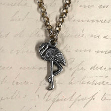 Load image into Gallery viewer, Flamingo Charm Necklace