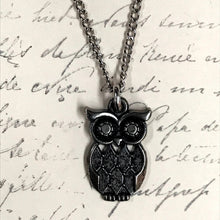 Load image into Gallery viewer, LAST CHANCE Misc Owl Charm Necklace