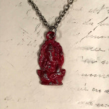 Load image into Gallery viewer, Seated Ganesh Charm Necklace
