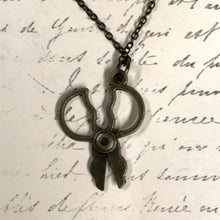 Load image into Gallery viewer, Squatty Scissors Charm Necklace