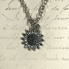Load image into Gallery viewer, Sunflower Charm Necklace