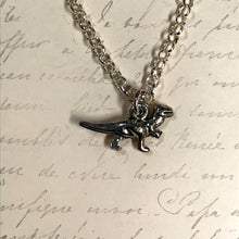 Load image into Gallery viewer, T-Rex Dinosaur Charm Necklace