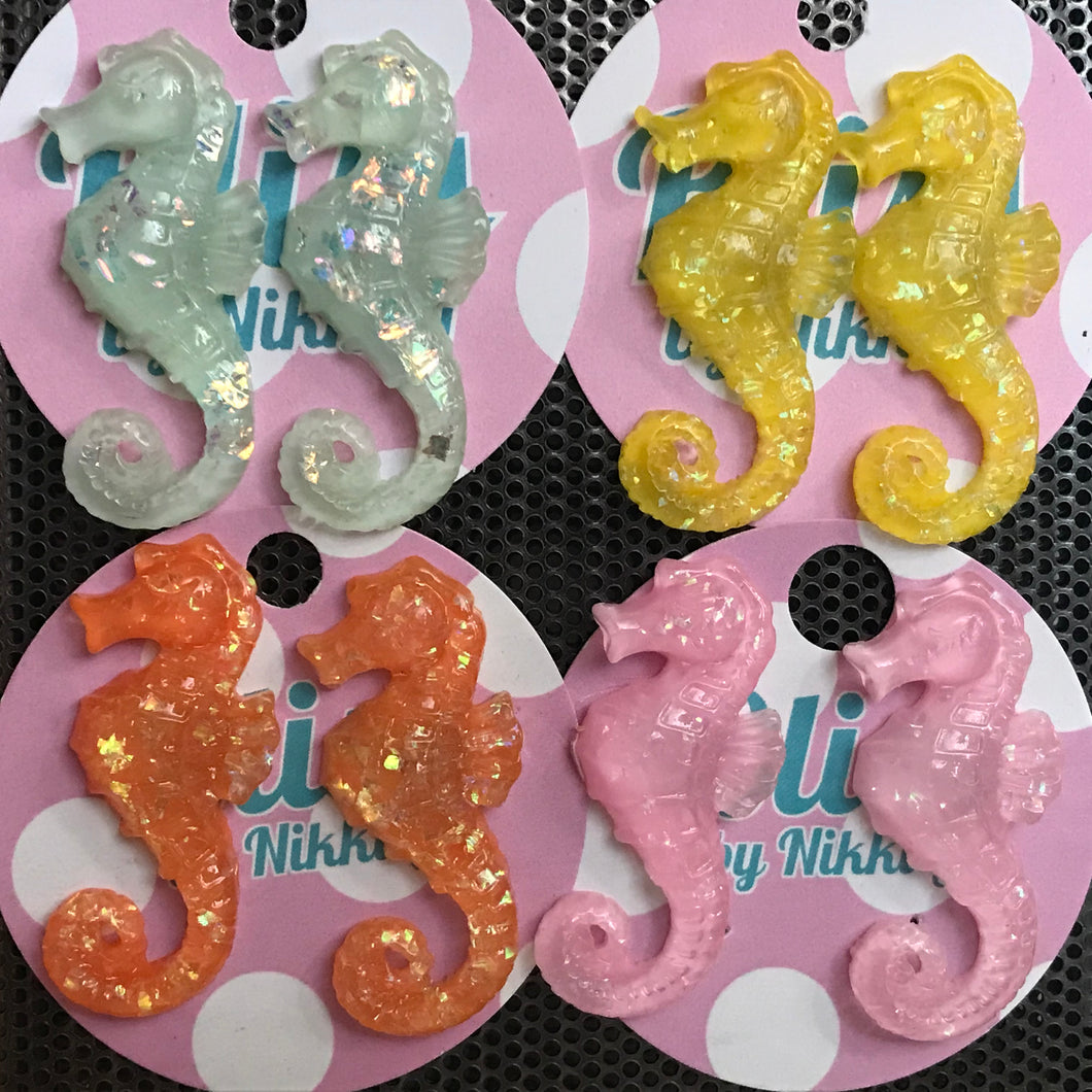 Seahorse earrings Bliss by Nikki g