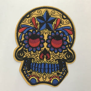Big Sugar Skull Patch