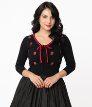 Load image into Gallery viewer, Strawberry Dandy Cardigan