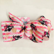 Load image into Gallery viewer, Glam Bats Xtra Large Hand Made Hair Bow