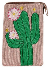 Load image into Gallery viewer, Beaded Cell Phone Purse