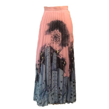Load image into Gallery viewer, Pink Cityscape Skirt- Size Small
