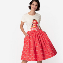 Load image into Gallery viewer, Coca Cola Print Skirt