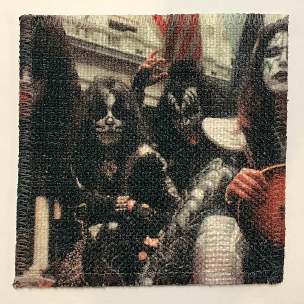 KISS Band Linen Patch