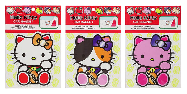 hello kitty car magnet