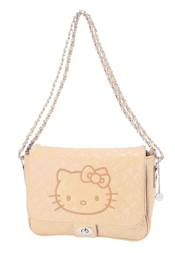 hello kitty quilted shoulder bag 14135