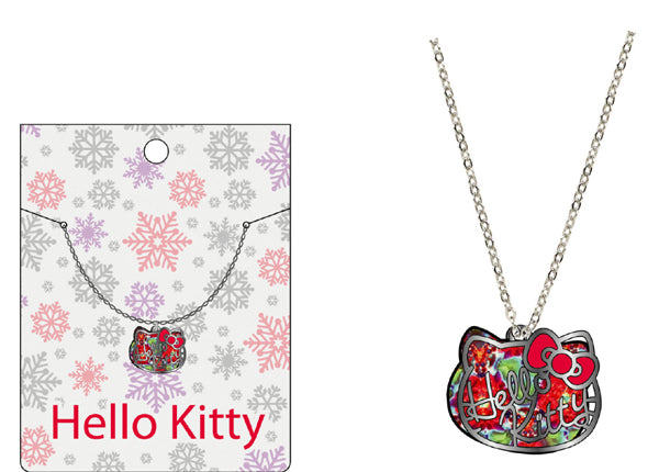 hello kitty glitter necklace 53620