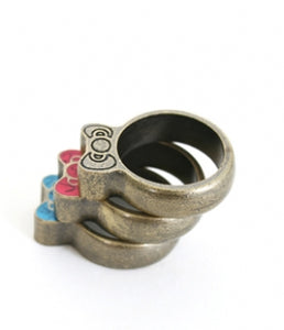 Hello kitty stackable bow rings loungefly